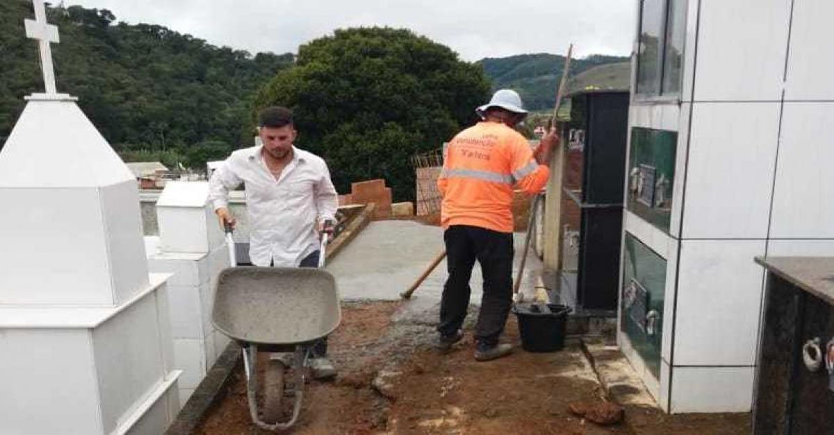 PMSSVA inicia obras de reforma no Cemitério Municipal